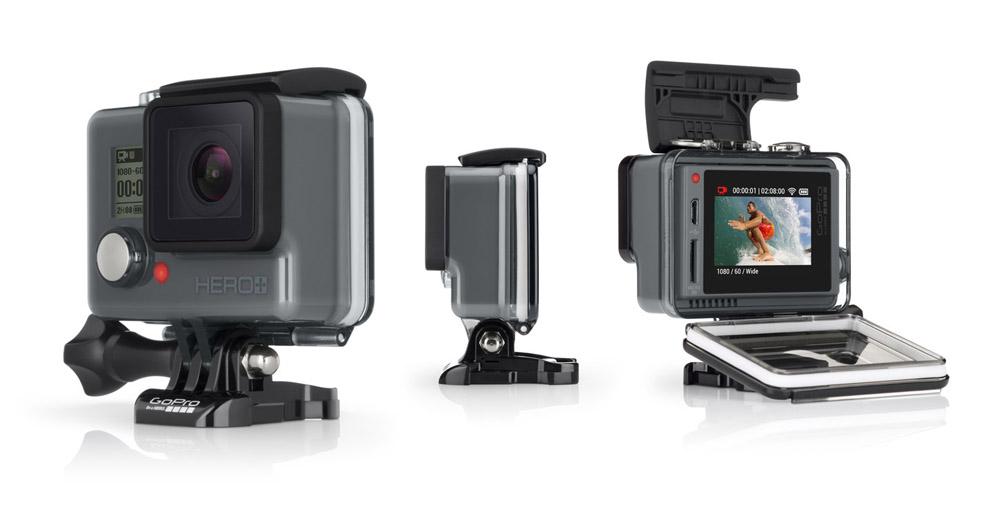 Nieuwe GoPro HERO+ LCD-actiecamera met aanraakscherm
