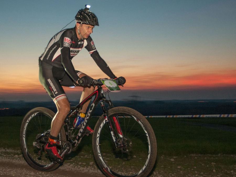 Gerard de Bruijn (Monique's Bikeshop) favoriet voor NK 24u tijdens Lakebike24