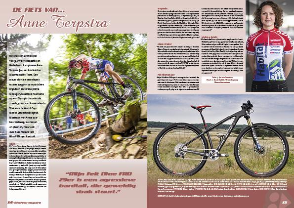 De fiets van… Anne Terpstra