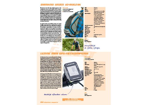 Lezyne Mini GPS-fietscomputer