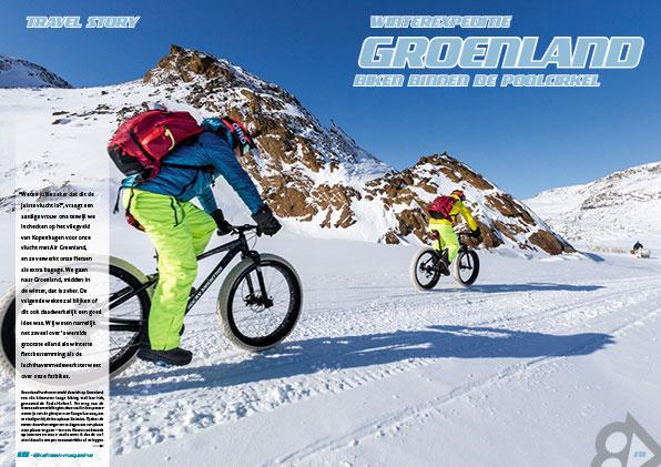 Winterexpeditie Groenland