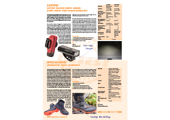 Lezyne Macro Drive 600XL/ Strip Drive Pro-verlichtingsset