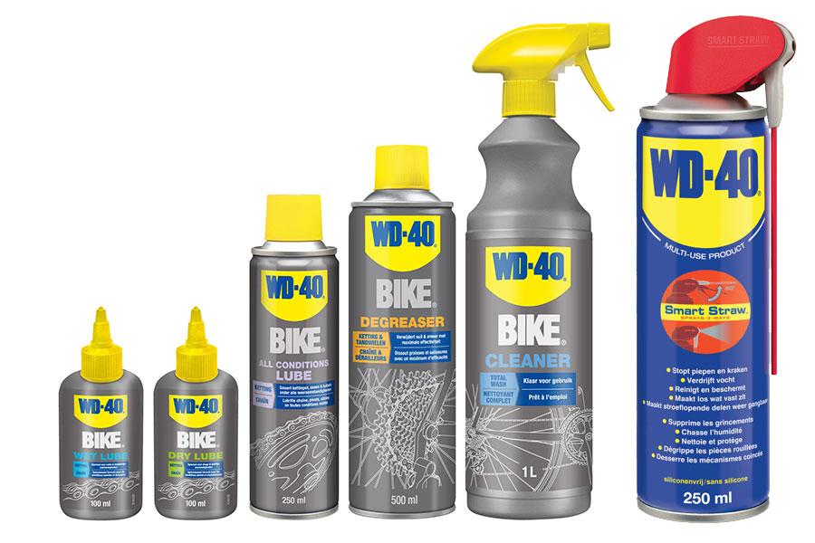 Nieuw en speciaal voor je fiets: WD-40 BIKE