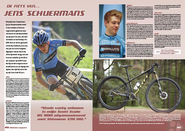 De fiets van… Jens Schuermans