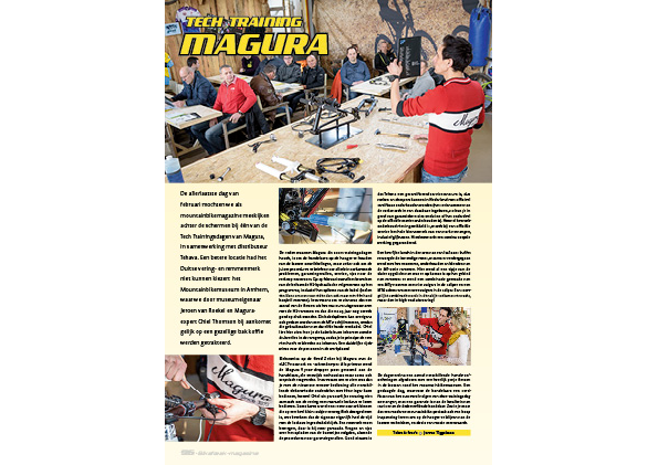 Tech training – Magura