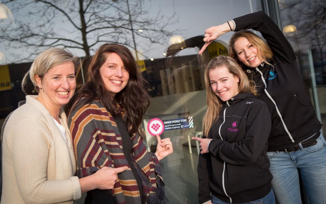 Strongher lanceert een keurmerk voor vrouwvriendelijke fietswinkels