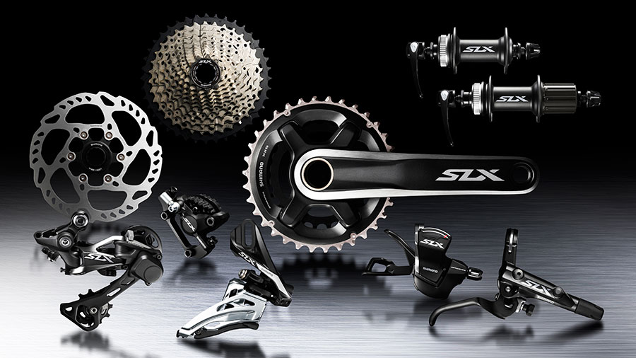 Nieuwe Shimano SLX M7000 groepset