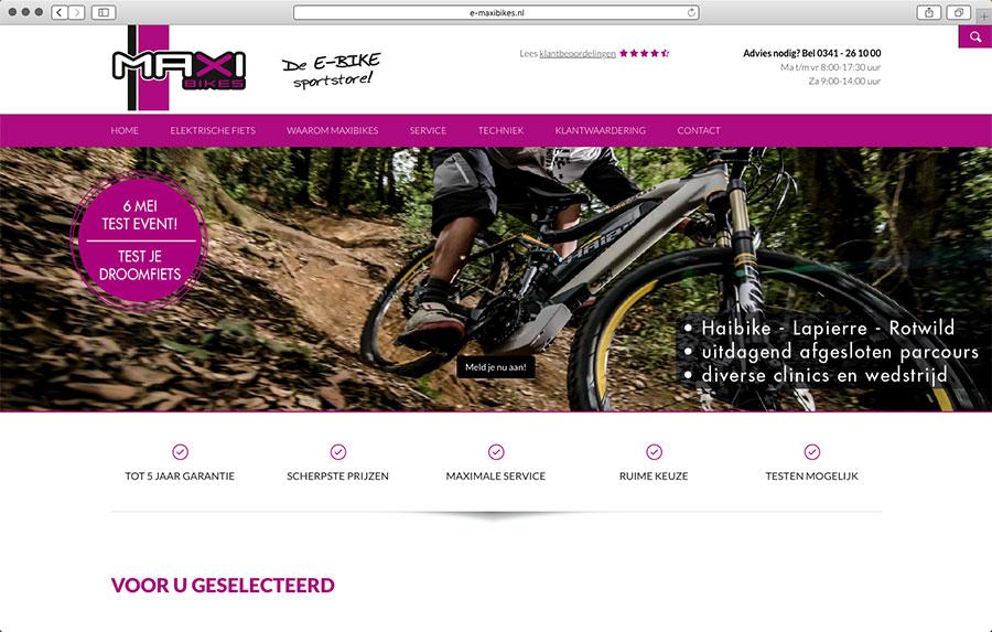 Maxibikes Nunspeet organiseert eMTB-testevent