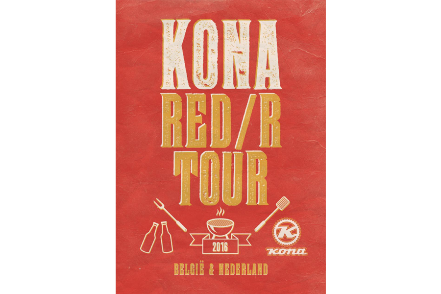 Kona RED/R tour 2016
