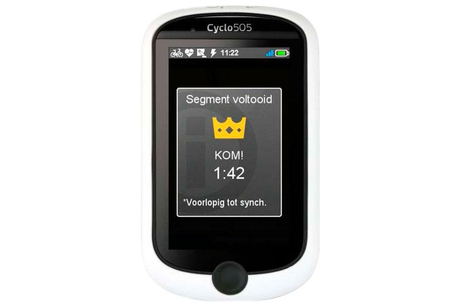 Strava Live Segments rijden met Mio™ Cyclo™