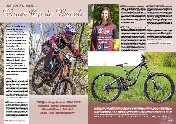 De fiets van… Roos Op de Beeck