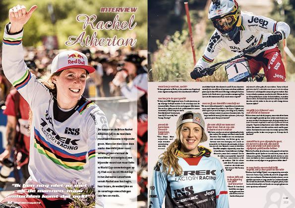 Interview Rachel Atherton
