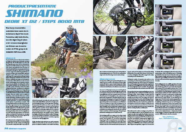 Productpresentatie – Shimano Deore XT Di2 / Steps 8000 MTB