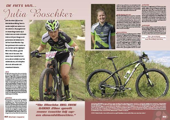 De fiets van… Julia Boschker