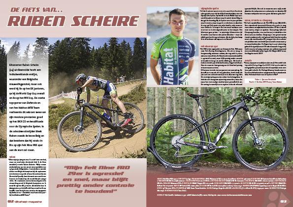 De fiets van… Ruben Scheire