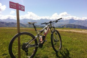 Mountainbike-gebied Méribel