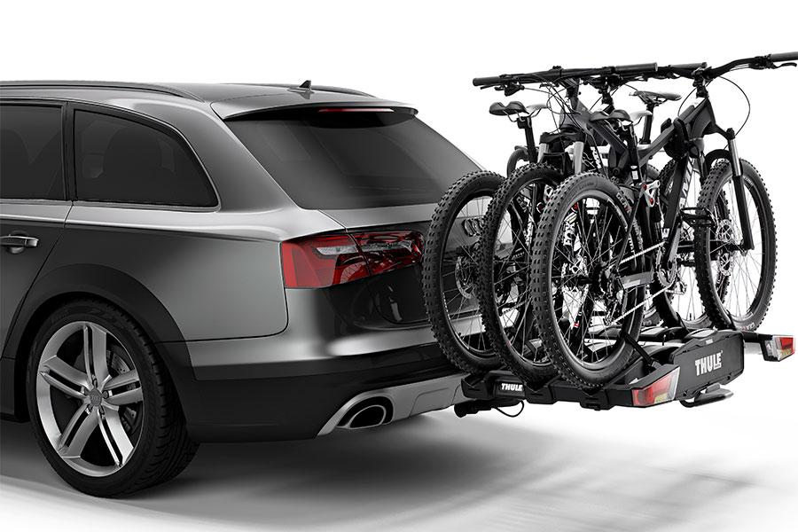 Vernieuwde Thule EasyFold XT-fietsendrager