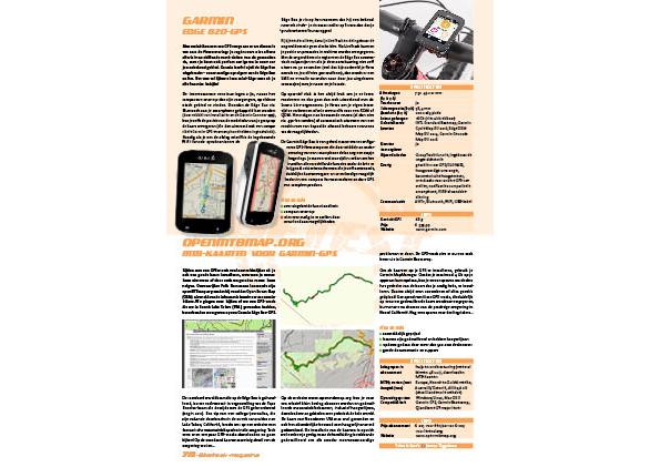 OpenMTBmap.org – MTB-kaarten voor Garmin-GPS