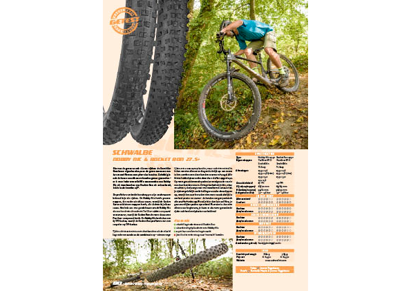 Schwalbe Nobby Nic & Rocket ron 27.5+