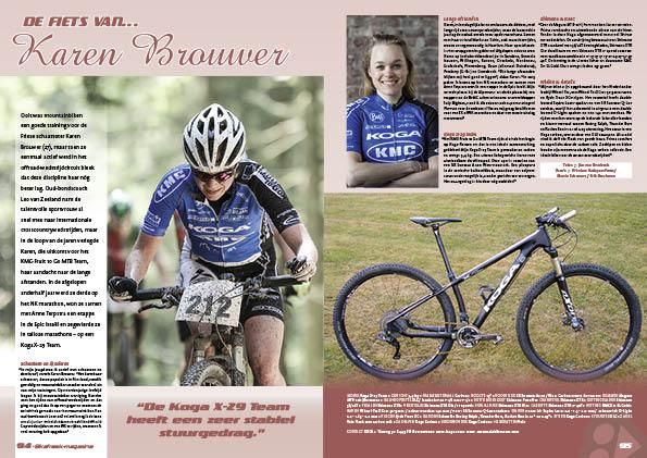 De fiets van… Karen Brouwer