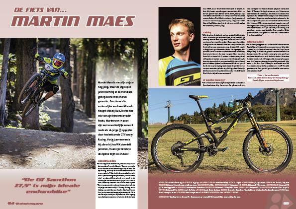 De fiets van… Martin Maes