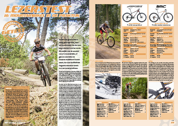 Lezerstest – 16 mountainbikes in de praktijk