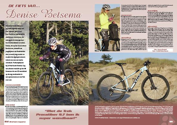De fiets van… Denise Betsema