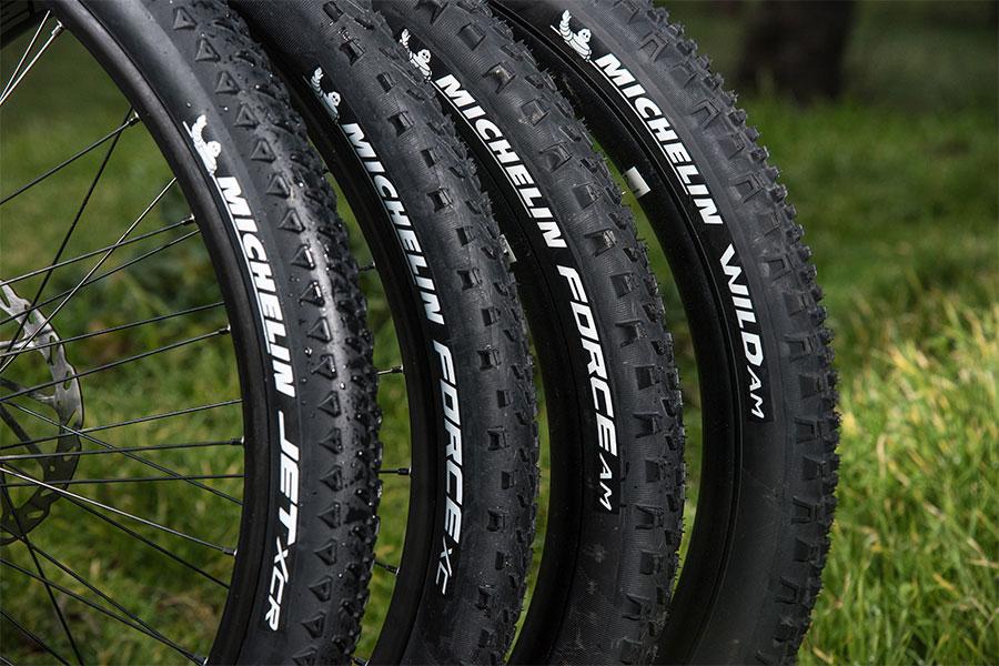 Vier nieuwe MTB-banden van Michelin