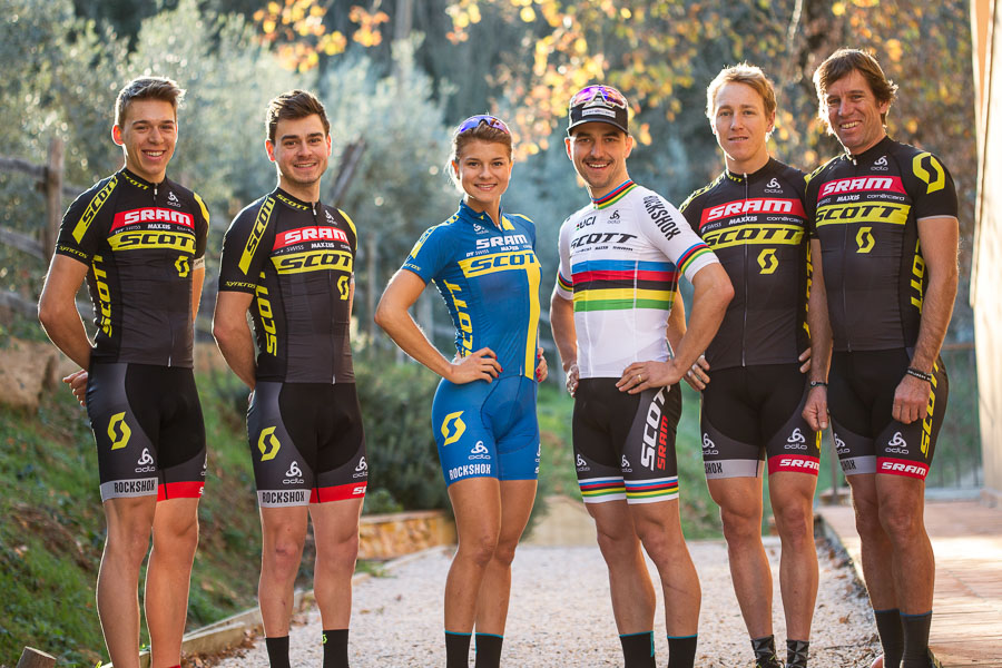 Thomas Frischknecht presenteert Scott-SRAM MTB Racing Team