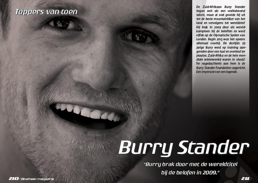 Toppers van toen – Burry Stander