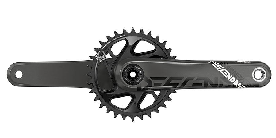 SRAM Descendant Carbon crankset