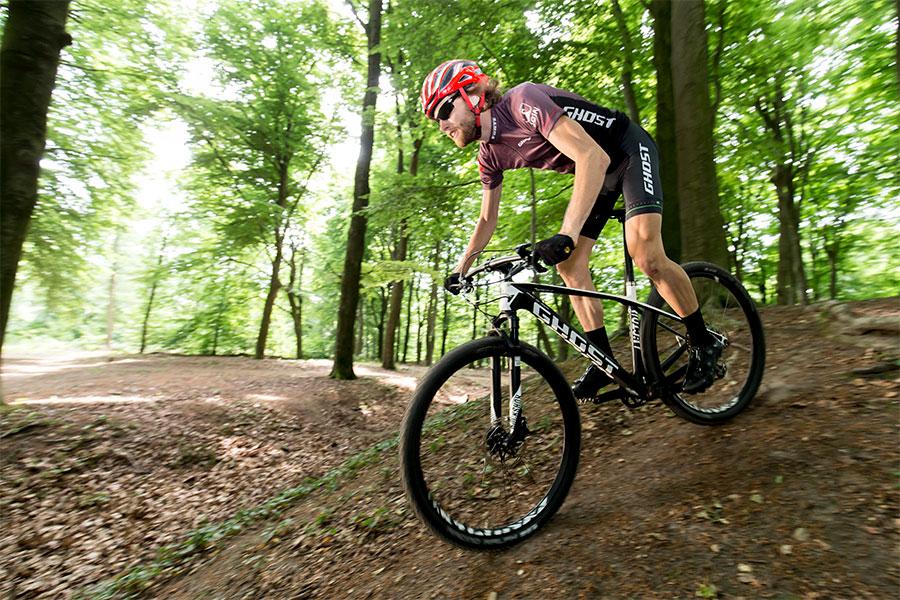 Ghost-Bikes sponsort mountainbiker Marc de Maar