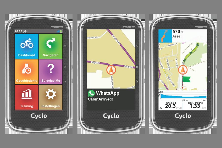 Mio Cyclo 400-reeks en 605 HC