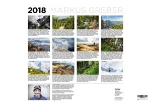 MTB kalender 2018 - Markus Greber
