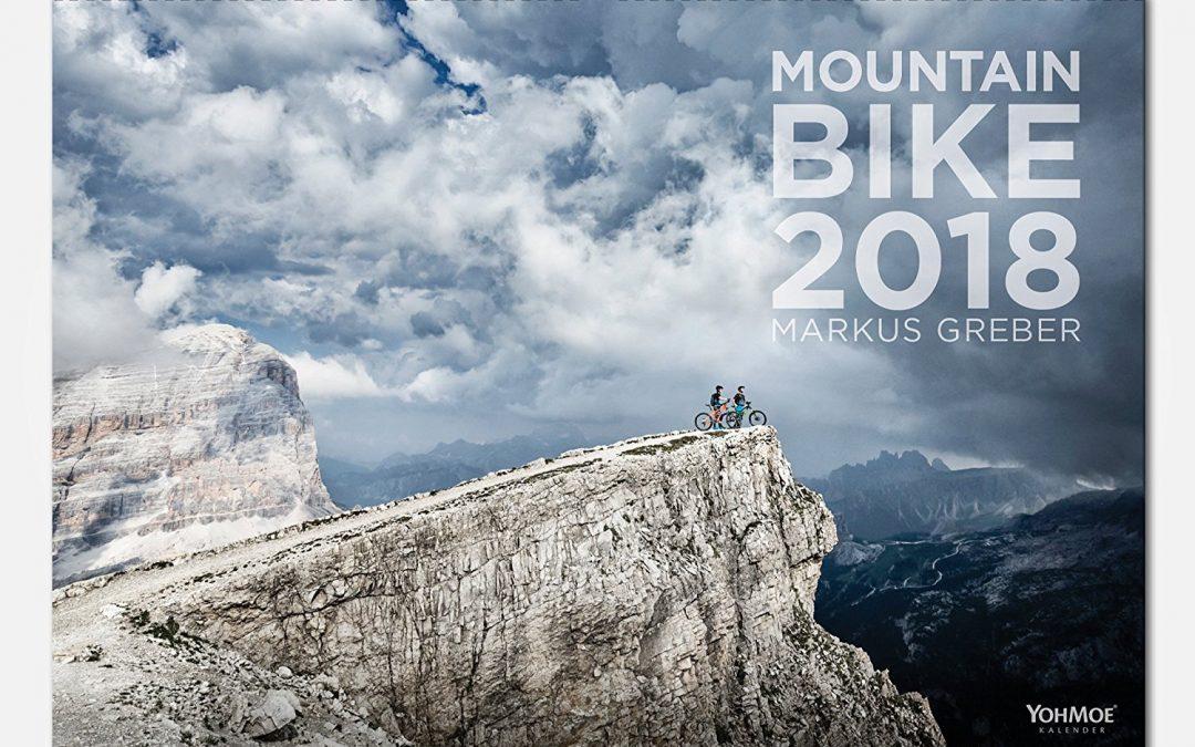 Mountainbike-kalender 2018 door Markus Greber