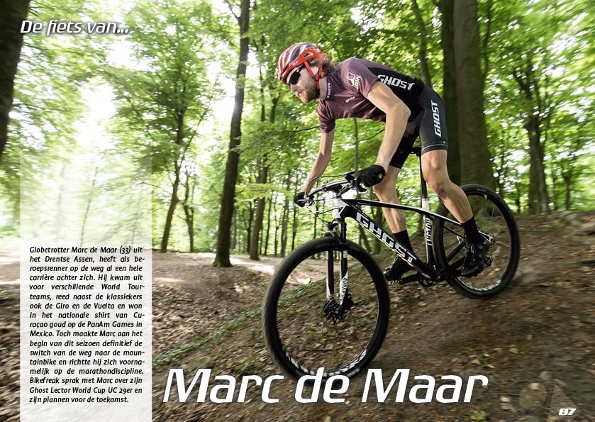 De fiets van… Marc de Maar
