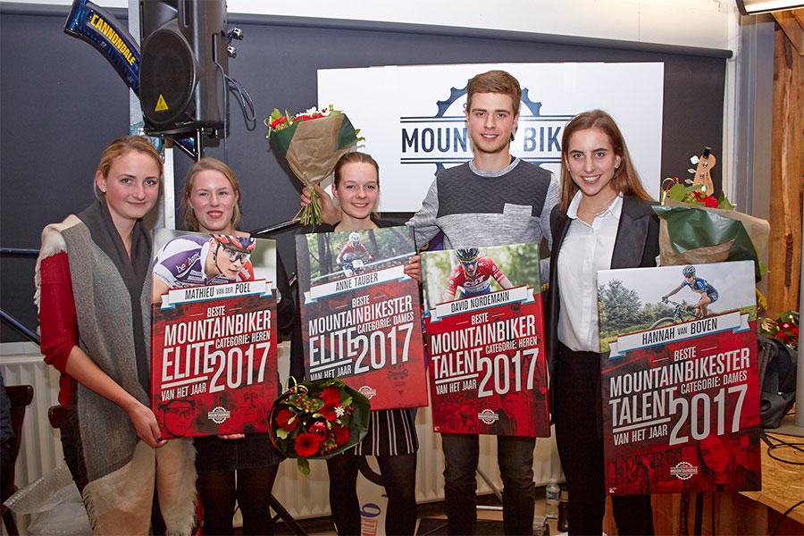 MTB Awards voor Tauber, Van der Poel, Nordemann en Van Boven