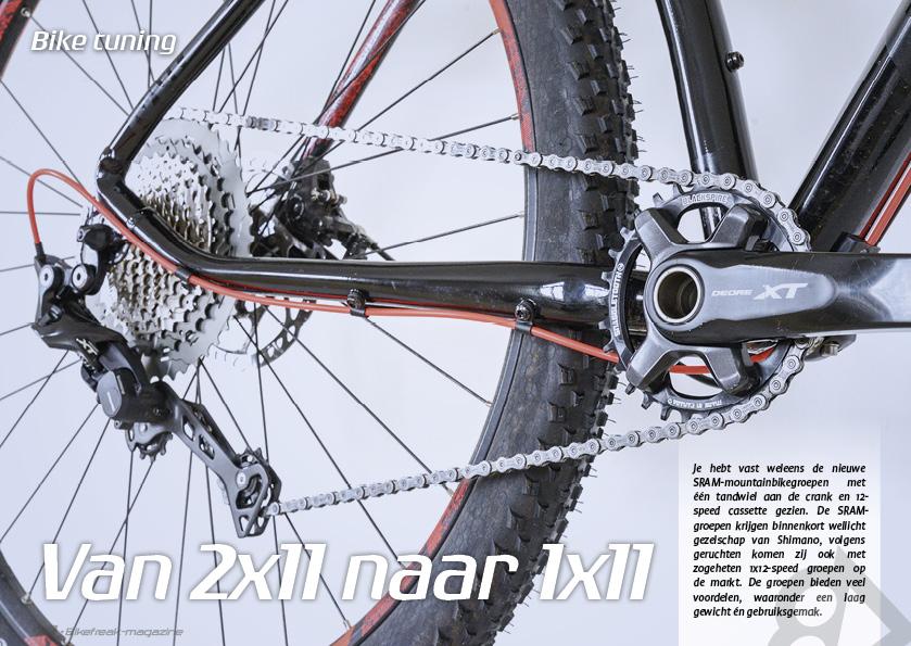 Bike tuning – van 2×11 naar 1×11