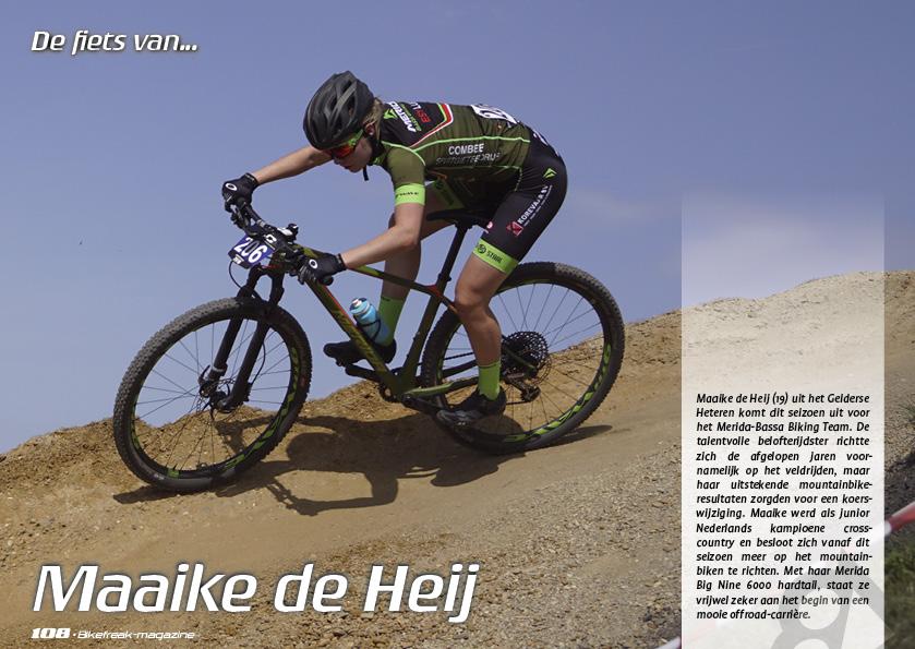 De fiets van… Maaike de Heij