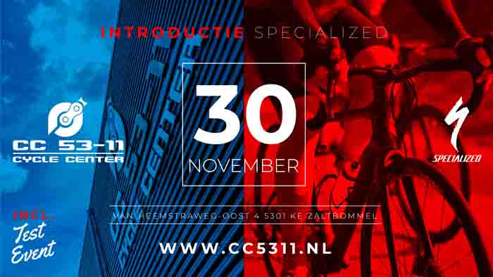 Cycle Center 53-11 officieel Specialized-dealer