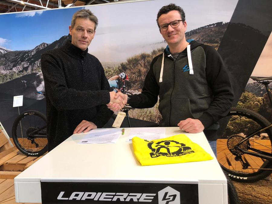 Lapierre en stichting MTB Zuid Veluwe slaan handen ineen