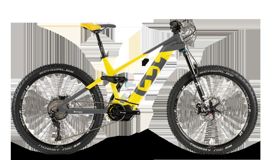 Nieuw fietsmerk: Husqvarna e-MTB's