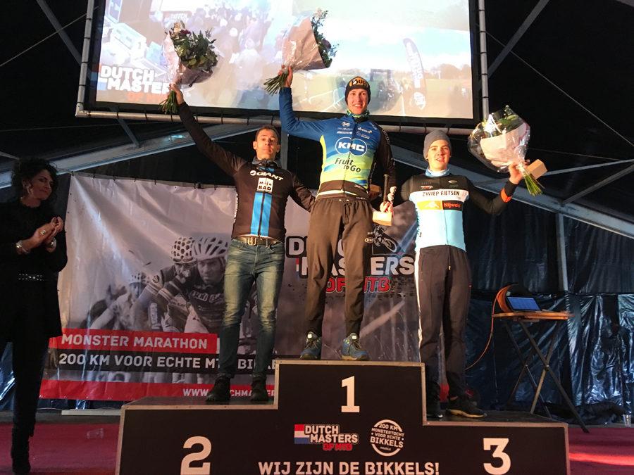 Gerben Mos wint de Dutch Masters of MTB