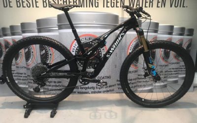 Proteam Hydro Coating: niet poetsen, maar fietsen!