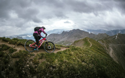 Eindeloze trails: Steffi Marth en Richie Schley op een Zwitsers avontuur
