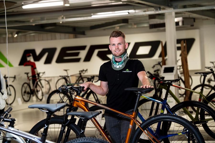 Marc Bouwmeester gaat van start bij Merida