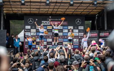 World Cup Albstadt – Anne Terpstra (5) en Anne Tauber (4) voor het eerst naast elkaar op Elite-podium in een World Cup!