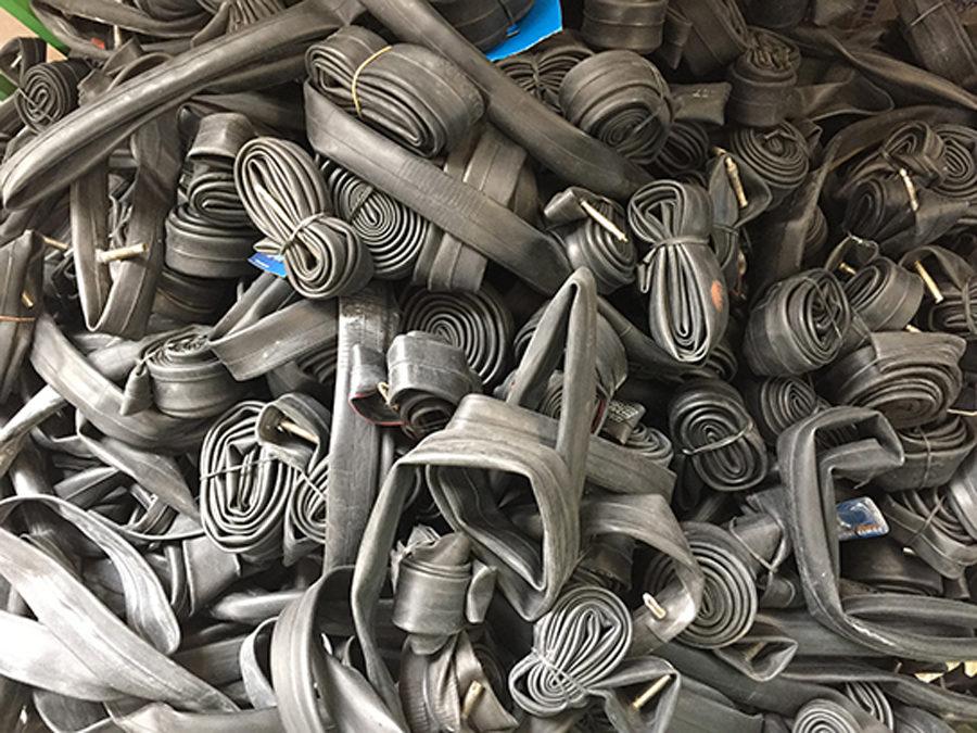 Fietsbandenfabrikant Schwalbe start met binnenbanden recycling programma