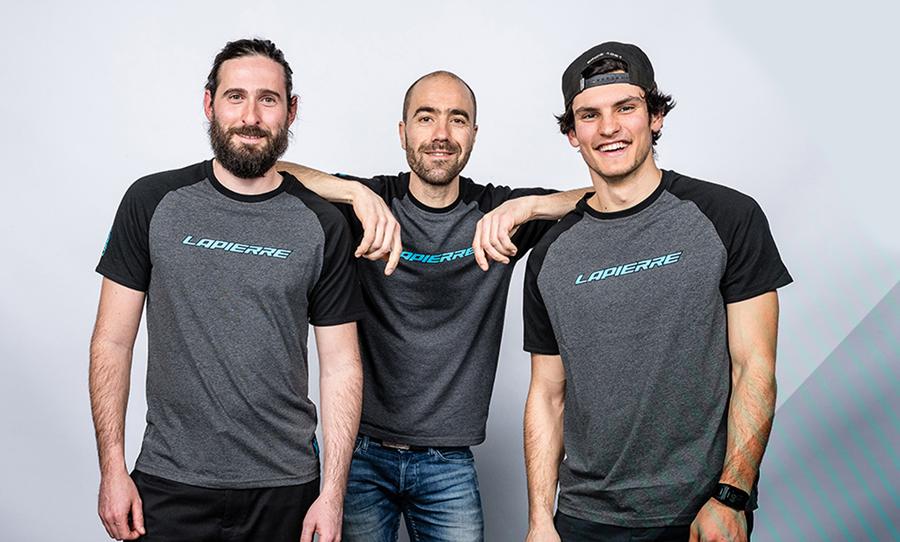 Ook Lapierre komt dit seizoen met e-bike team