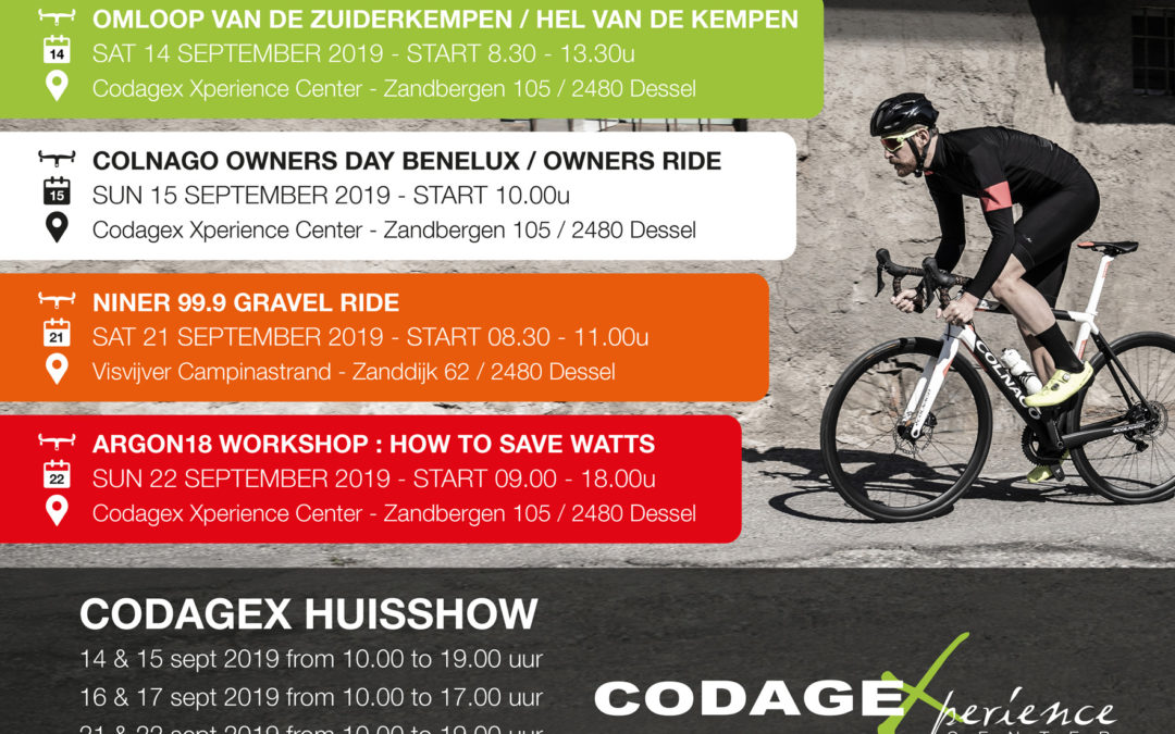 Codagex huisshow presenteert 2020